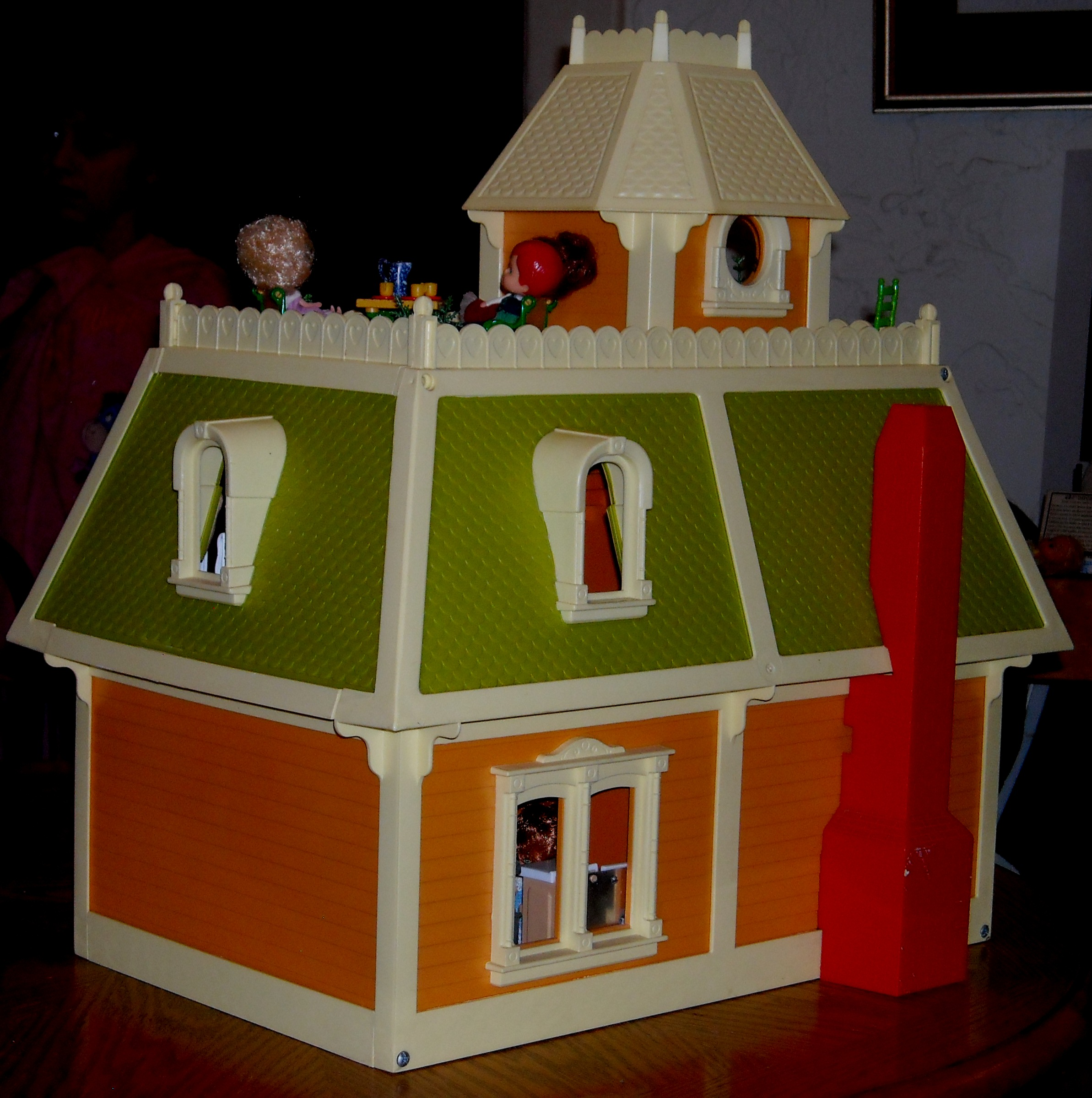 Mattel S The Littles 1980 Dollhouse A Wonderful World