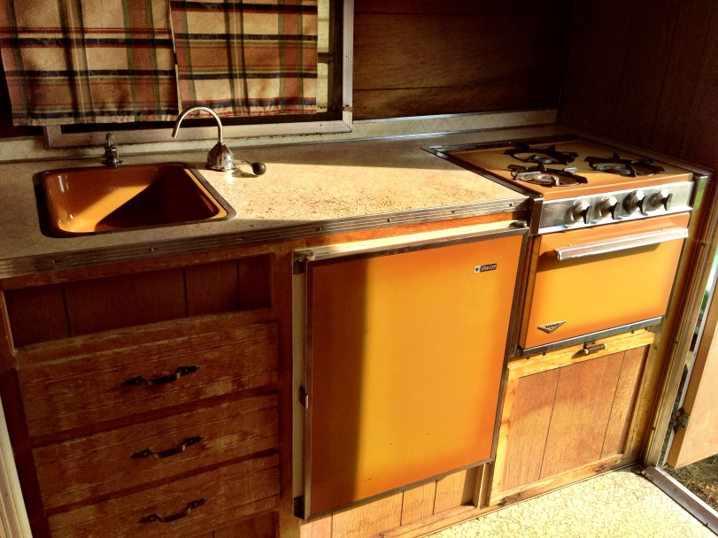 Holiday Travel Trailer Stove